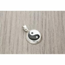 Colgante Plata yin yang nácar MOD.50999 EN PLATA DE LEY 925
