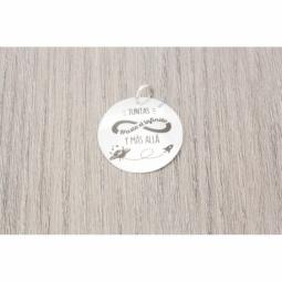 Colgante Plata Grabado MOD.51007 EN PLATA DE LEY 925