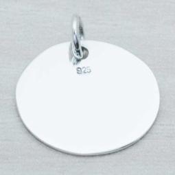Colgante Plata p/Grabar en Plata de Ley 925