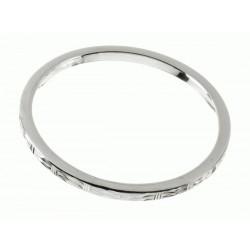 Pulsera Rígida labrada Mod. 40400 en Plata de Ley 925