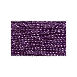 Perla de Cristal en tira Fucsia Oscuro 1ª Calidad- 4 Mod.21585 4