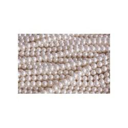 Perla de Cristal en tira Beige 1ª Calidad -8 Mod.21585 8