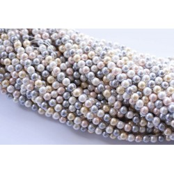 Perla de Nácar en tira Colores Pasteles 1ª Calidad Mod.21797 1