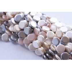 Perla de Nácar en tira Colores Pasteles 1ª Calidad Mod.21801 3