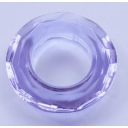 Abalorio de cristal Aro color Malva Mod.21813 1