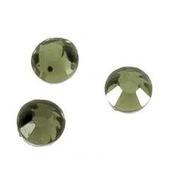100 Unidades de Cristal para pegar con plancha verde claro Mod.21940 2