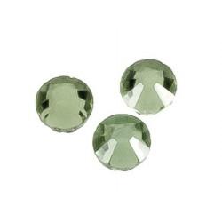 100 Unidades de Cristal para pegar con plancha verde manzana Mod.21940 6