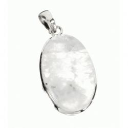 Colgante Piedra de Luna en LEY 925 Mod.50773 en Plata