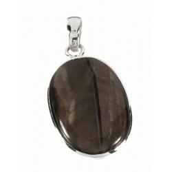 Colgante Piedra Ojo de Tigre en LEY 925 Mod.50774 en Plata