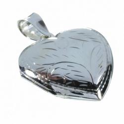 Colgante Guarda Pelo Corazón Mod.50071 en Plata