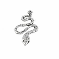 Colgante Plata Serpiente Oxidada Mod.50845 En Plata De Ley 926