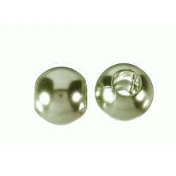 Bola Resina perlada hueco grande verde Mod.21937 2