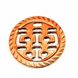 Colg. Diseño Inca ch. color cobre Mod.21669 C