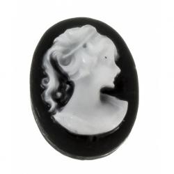 Abalorio de resina Camafeo ch. Mod.21965
