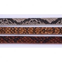 Cuero diseño Serpiente Marrón Oscuro Mod.21959 1