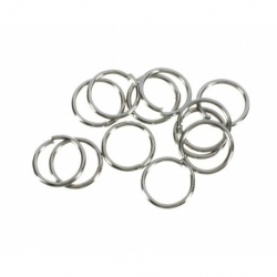 30 grs. de Arandela metal plata vieja Mod.21108 7X6 PV