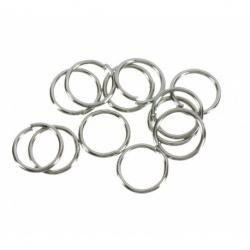 30 grs. de Arandela metal plata vieja Mod.21108 7X7 PV