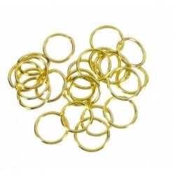30 grs. de Arandela metal color oro Mod.21108 7X8 O