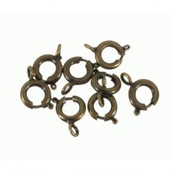 50 Unid. Cierre reasa color bronce Mod.21163 B