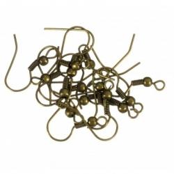 200 Unid. Gancho hippie color bronce Mod.21101 B