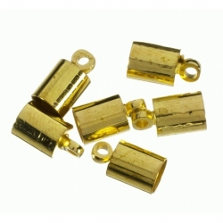 Terminal para cordon de 12 mm color oro Mod.21851 O