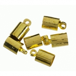 Terminal para cordon de 10 mm color oro Mod.21850 O
