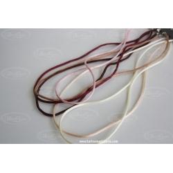 Cordón de Seda con cierre de Plata de Ley 925