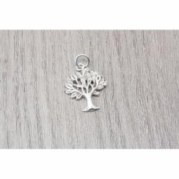 Colgante Árbol de la vida en plata oxidada MOD.50964 EN PLATA DE LEY 925